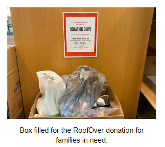 RoofOver Transitional Shelter Donation Drive