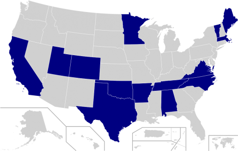 States that had primaries on Super Tuesday, March 3rd 2020